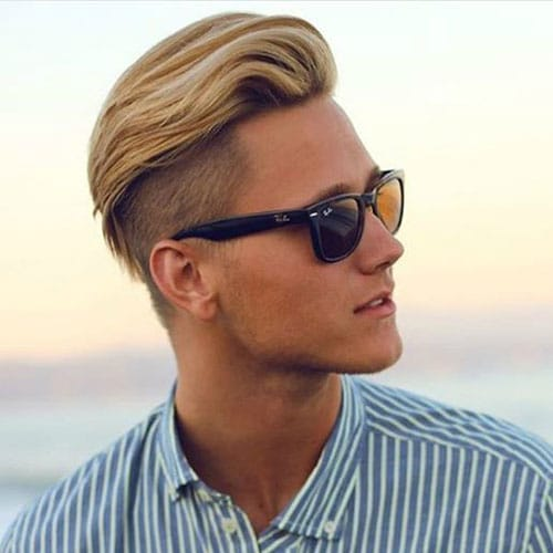 Summer Hair For Men - Undercut with Comb Over