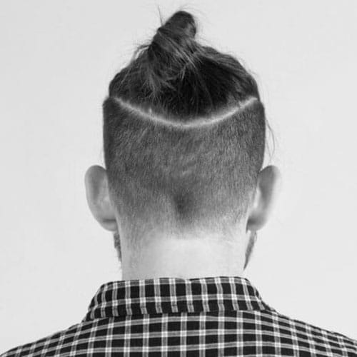 Mens Top Knot Hairstyles Mens Hairstyles Haircuts - Mens hairstyle top knot
