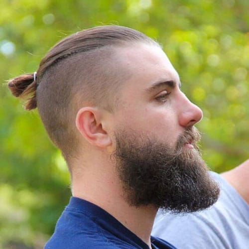 Men S Top Knot Hairstyles