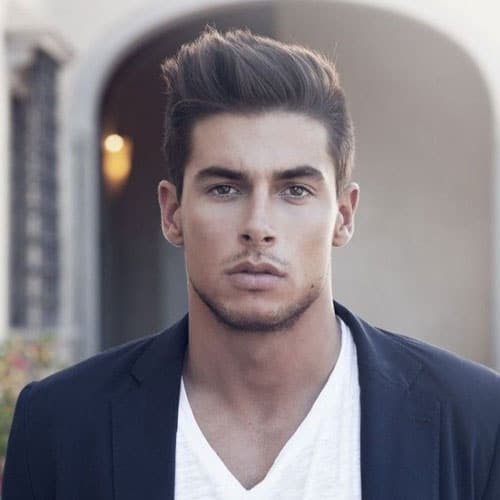 Classy Hairstyles For Men - Short Sides with Long Textured Hair