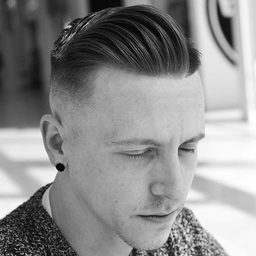 Pretty Boy Hair - Low Skin Fade with Side Part