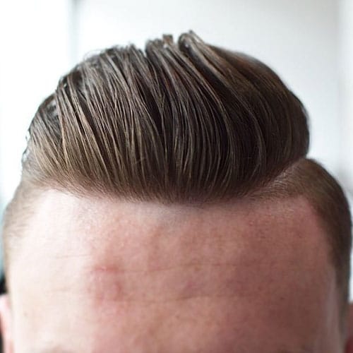Pretty Boy Haircuts   High Fade With Textured Slick Back