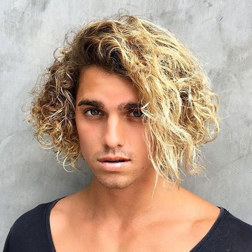 Blonde Surfer Hair