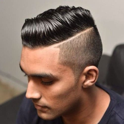 Comb Over Taper Fade Hairstyles