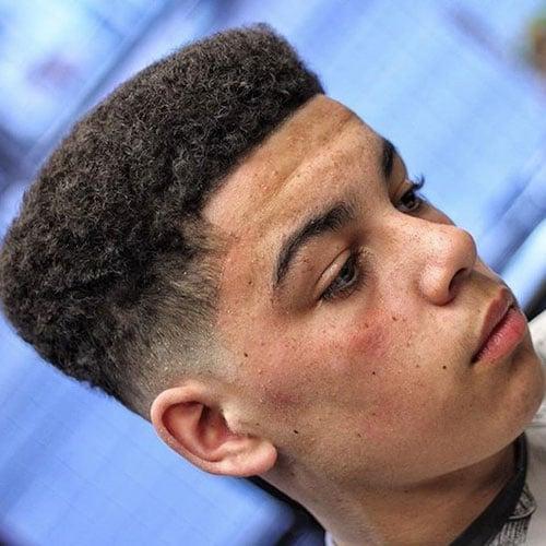Flat Top Hair