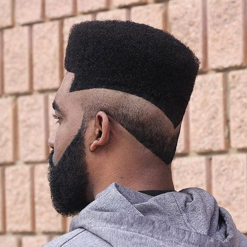 Flat Top Hairstyle