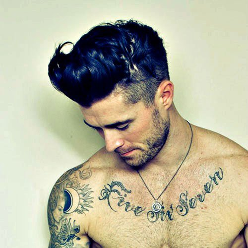 Frat Boy Haircuts - Fade with Quiff