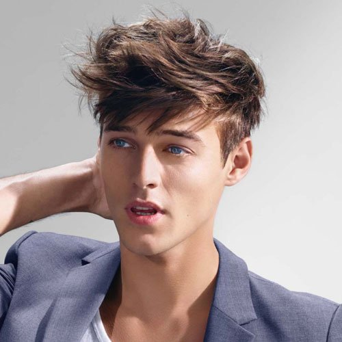 Frat Boy Haircuts - Short Sides with Messy Top