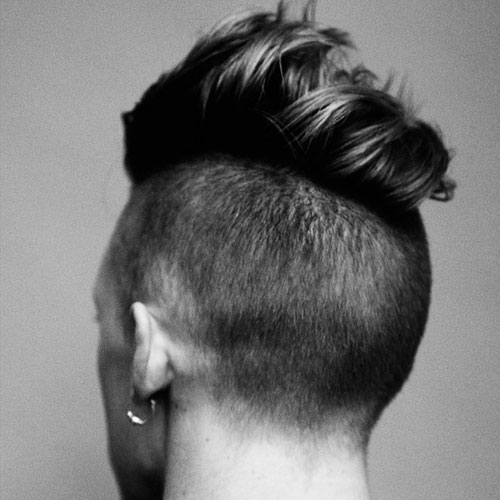 Frat Boy Haircuts - Undercut with Comb Over