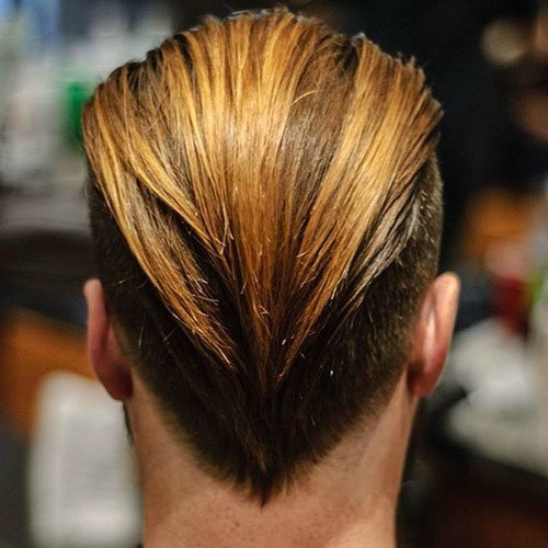 Frat Boy Hairstyles - Long Slicked Back Hair