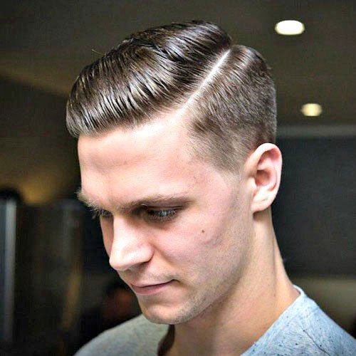 Frat Haircut - Side Part