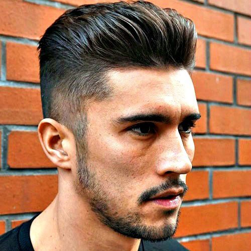 Fratty Hairstyles - Brushed Back Hair