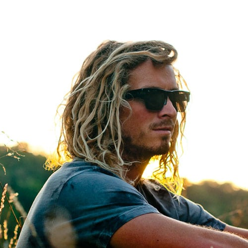 Long Surfer Hair For Guys