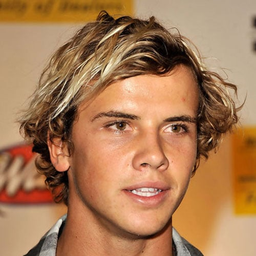 Medium Length Surfer Hairstyles