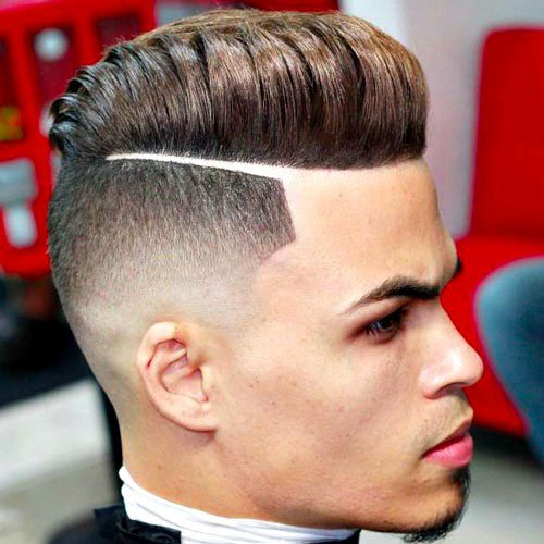 Men's Disconnected Pompadour