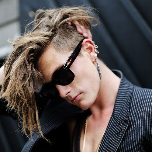 Awesome 21 Punk Hairstyles For Guys Men39S Hairstyles And Haircuts 2017 Short Hairstyles For Black Women Fulllsitofus