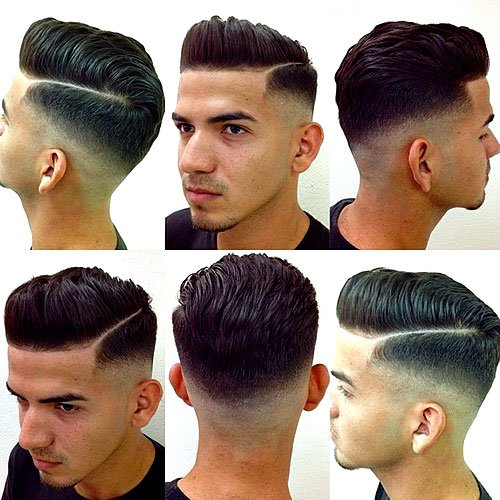 hair cutting style name haircut names for types of haircuts 2019 guide 5815 | Pompadour Hairstyle