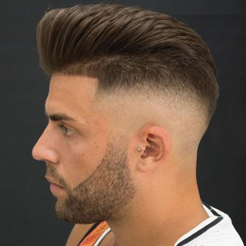 Pompadour Haircut Length : Haircut names for men types of haircuts mens hairstyles
