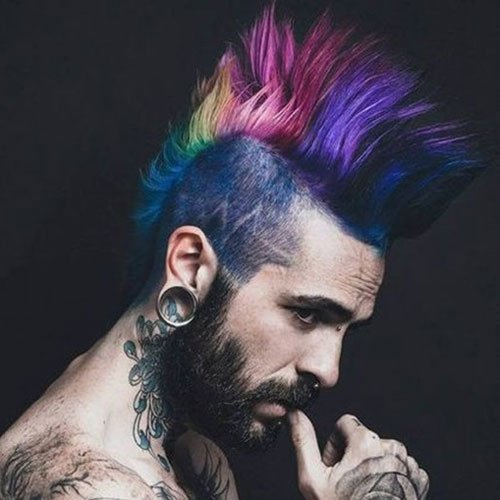 Beautiful Punk Hairstyles For Guys