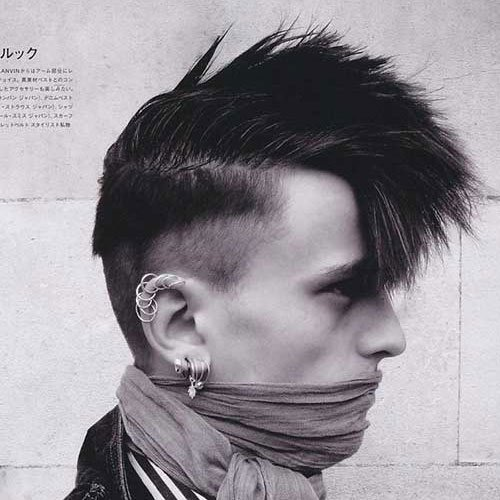 21 Punk Hairstyles For Guys  Men39;s Hairstyles + Haircuts 2017