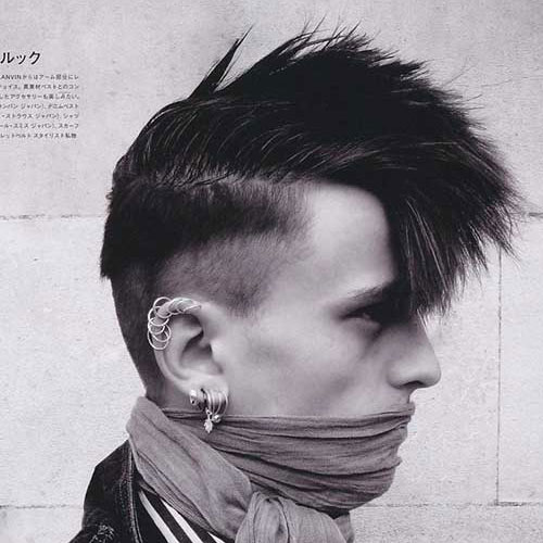 Tremendous 21 Punk Hairstyles For Guys Men39S Hairstyles And Haircuts 2017 Hairstyle Inspiration Daily Dogsangcom