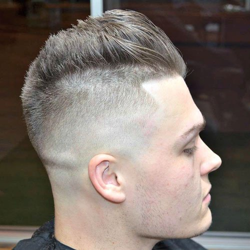 Barber Styles - High Bald Fade with Spiked Hair
