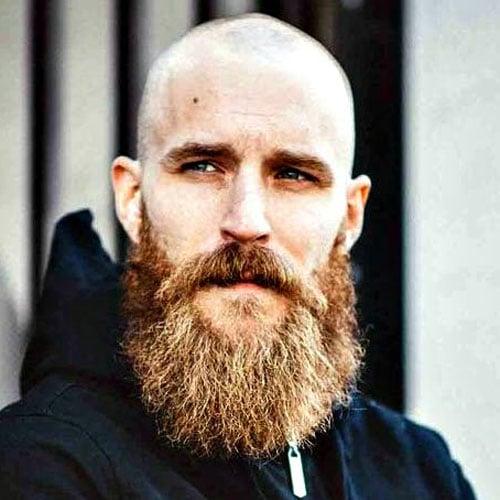 Beard with Shaved Head