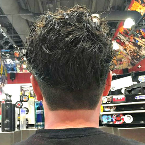 Pleasant The Best Neckline Haircuts Blocked Rounded Tapered Mens Hairstyle Inspiration Daily Dogsangcom