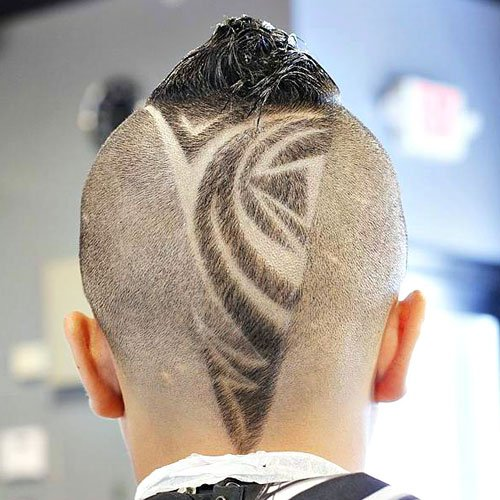Cool V-Shaped Cut