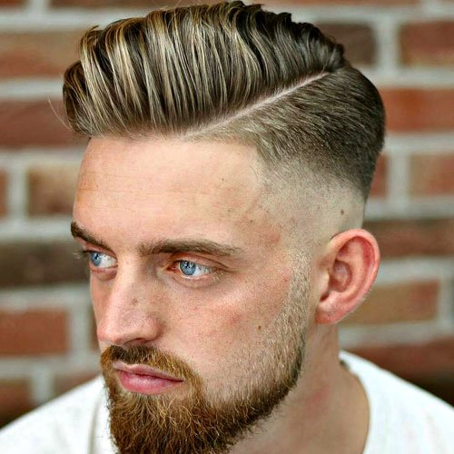 Captivating Hard Part Haircut