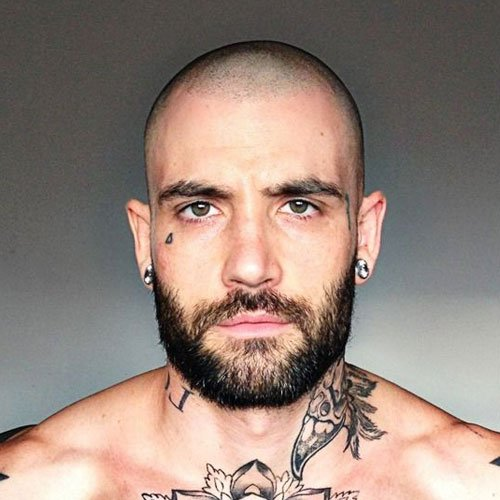 17 Bald Men With Beards Men S Hairstyles Haircuts 2017