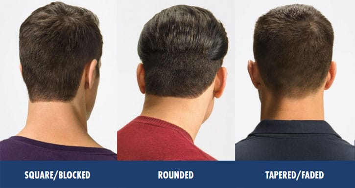 Men's Neckline Haircuts