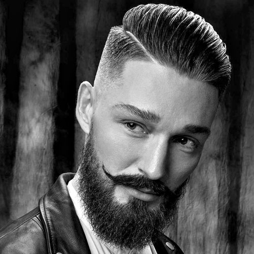 25 Hard Part Haircuts For Men 2018