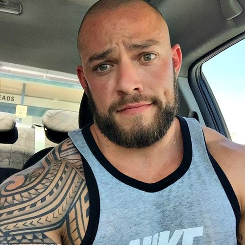 Men With Shaved Head 116