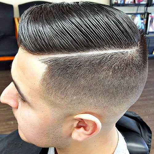 25 Hard Part Haircuts For Men 2019