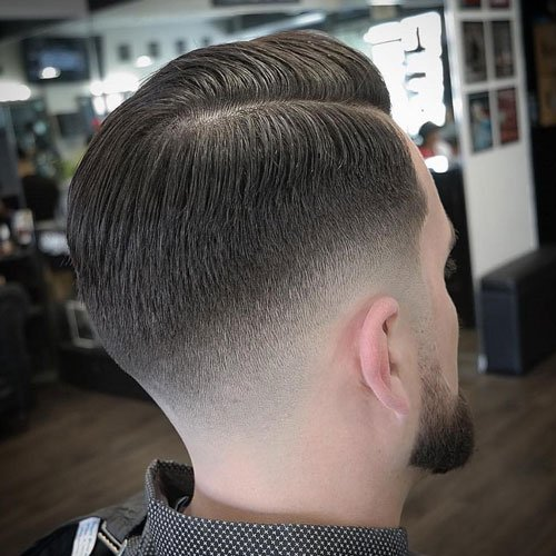 Tapered Neckline Haircut