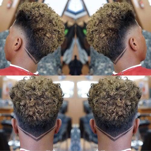 V Haircut For Black Men