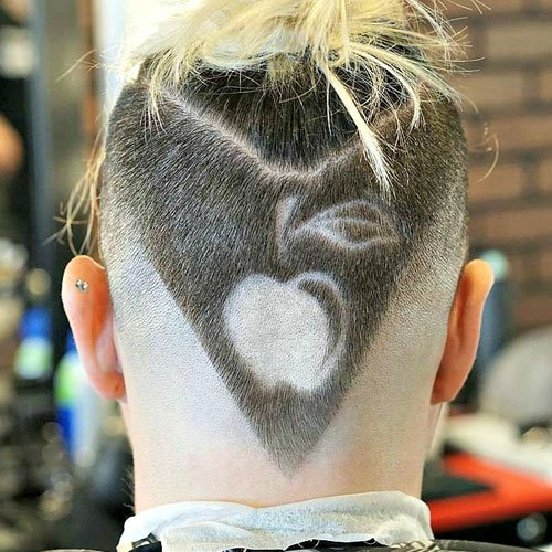 The V Shaped Haircut Mens Hairstyles Haircuts 2019