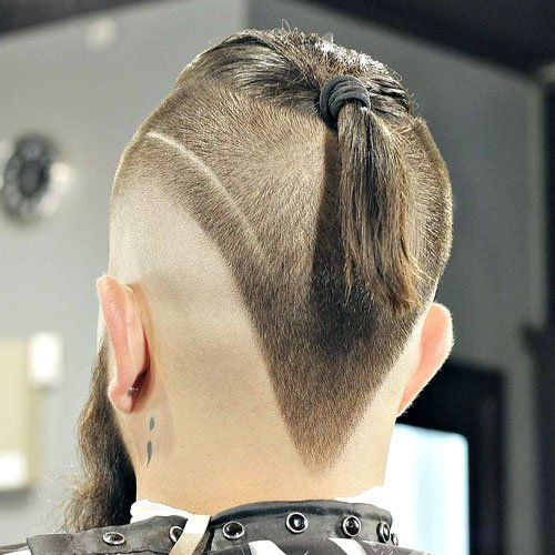 The V Shaped Haircut Men S Hairstyles Haircuts 2017