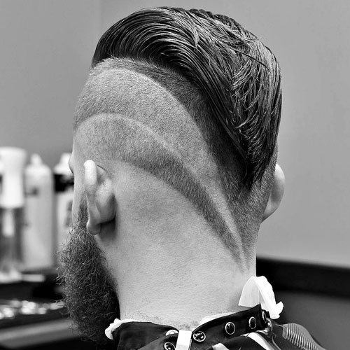 how to ask your barber for shaped sides