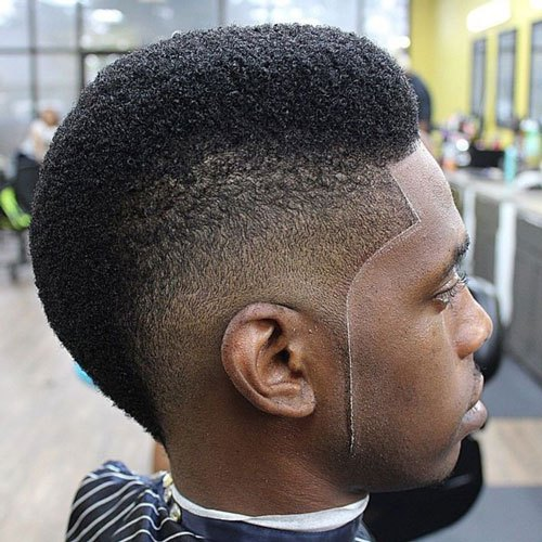 Stupendous The Burst Fade Mohawk Haircut Mens Hairstyles Haircuts 2017 Hairstyles For Men Maxibearus