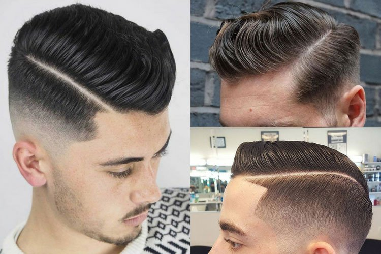 Best Men's Hard Part Hairstyles