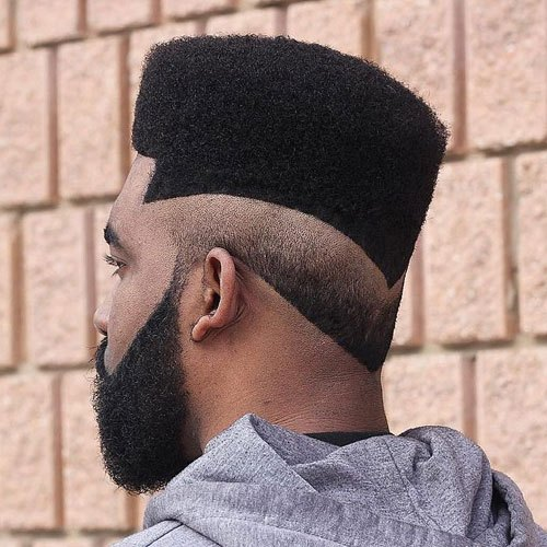 Flat Top with Reverse Fade