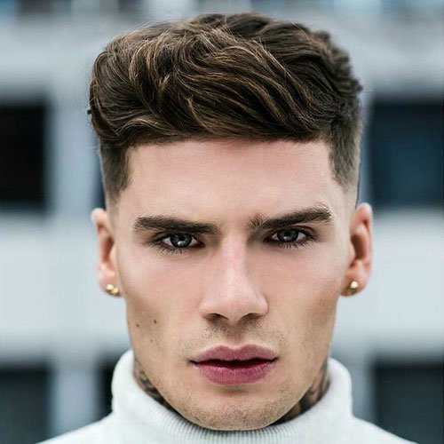 Mens Hairstyles Spherical Face Lengthy Hair