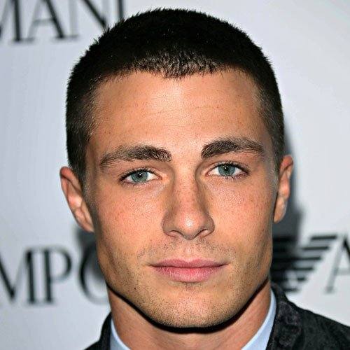 Hairstyles For Square Faces - Buzz Cut