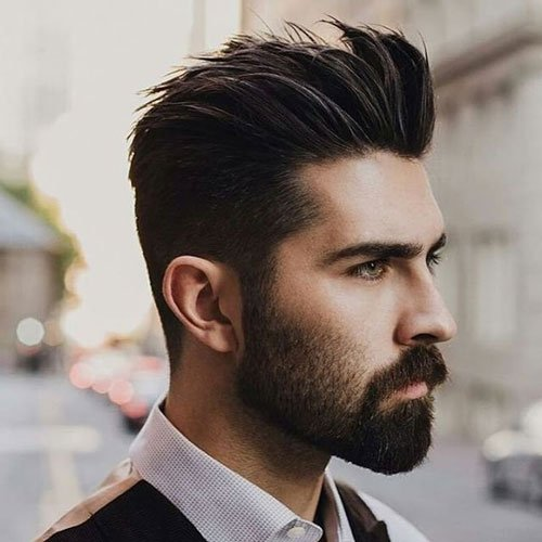 37 Best Widow\'s Peak Hairstyles For Men 2018