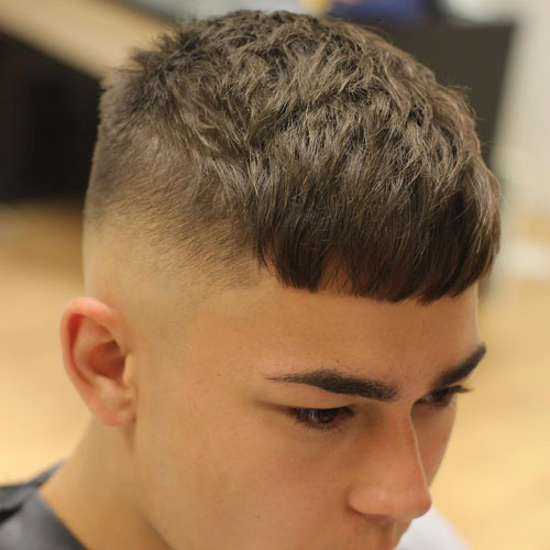 Bald Fade with Crop Top
