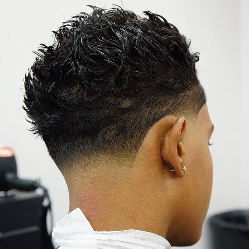 Burst Fade with Blowout