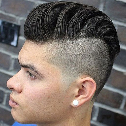 Disconnected Undercut + Modern Pompadour