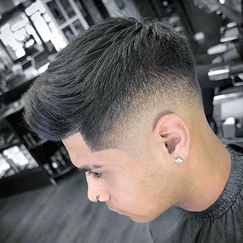 Low Skin Fade + Brush Up